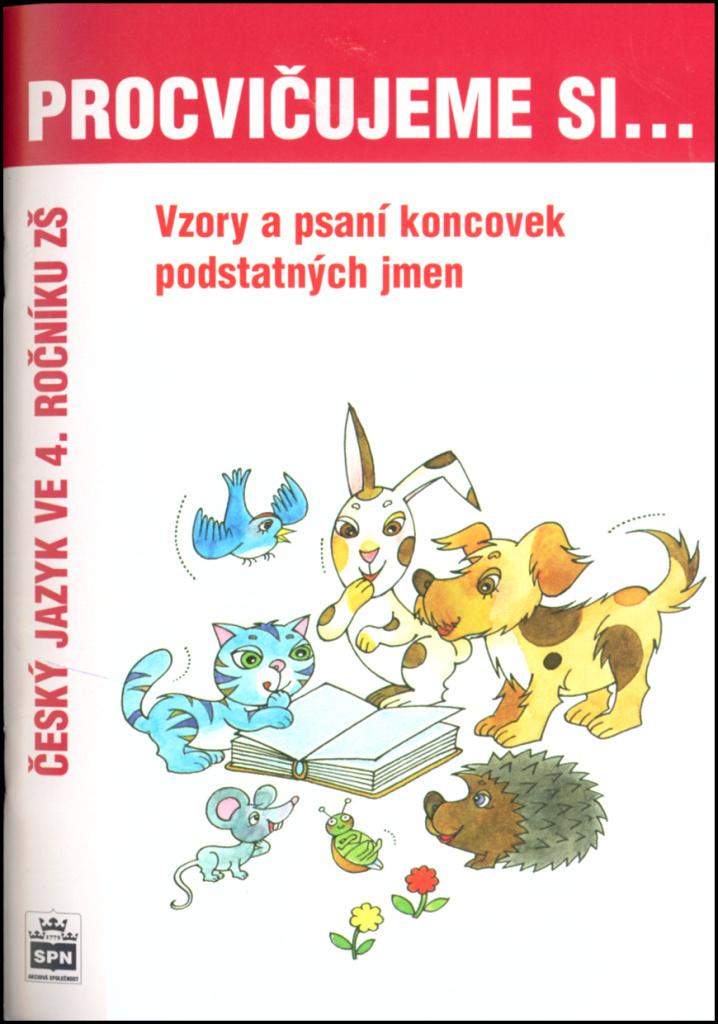 Procvičujeme si Vzory a psaní koncovek podstatných jmen - Lenka Galertová, Milena Brychtová