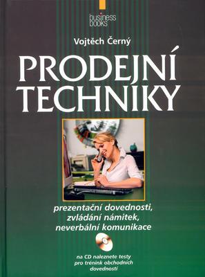 Obrázok Prodejní techniky + CD
