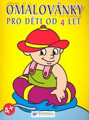 Obrázok Pro děti od 4 let - omalovánka