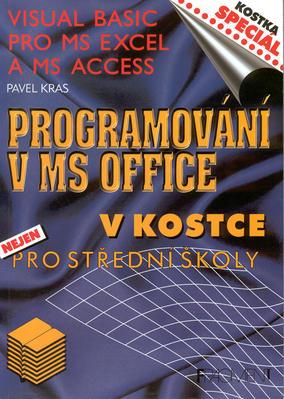 Obrázok Programování v MS Office v kostce pro střední školy
