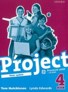 Obrázok Project 4 Pracovní sešit + CD