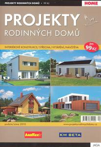 Obrázok Projekty rodinných domů 2/2010