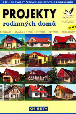 Obrázok Projekty rodinných domů jaro 2004