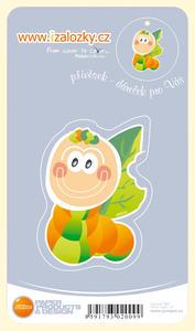 Obrázok Průsvitná záložka Červík - PZ 005