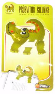 Obrázok Průsvitná záložka Krokodýl - PZ 021