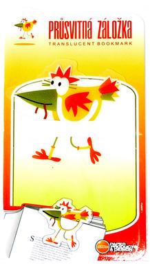 Obrázok Průsvitná záložka Ptáček - PZ 020