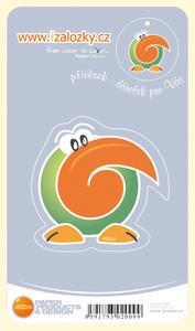 Obrázok Průsvitná záložka Tukan - PZ 003