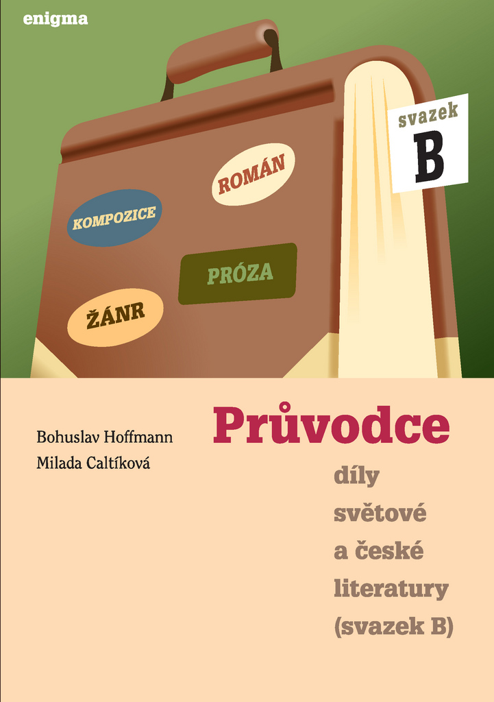 Průvodce díly světové a české literatury - Bohuslav Hoffmann, Milada Caltíková