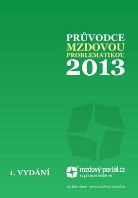 Obrázok Průvodce mzdovou problematikou 2013