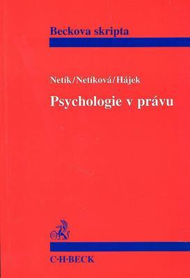Psychologie v právu