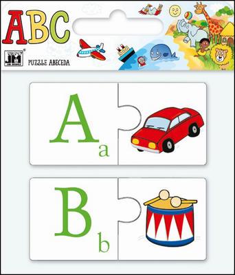 Obrázok Puzzle Abeceda