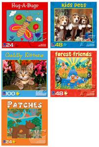 Obrázok Puzzle baby, 24, 48 a 100 dílků