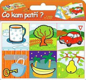 Obrázok Puzzle Co kam patří?