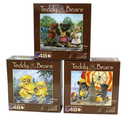 Obrázok Puzzle dětské 48 dílků, Medvídek