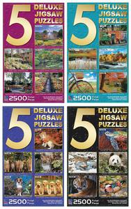 Obrázok Puzzle multipack 5 v 1