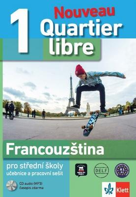 Obrázok Quartier libre 1 Nouveau Francouzština pro SŠ