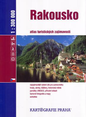 Obrázok Rakousko atlas turistických zajímavostí