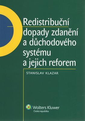 Obrázok Redistribuční dopady zdanění a důchodového systému a jejich reforem