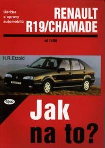 Obrázok Renault R19/Chamade od 11/88 do 1/96
