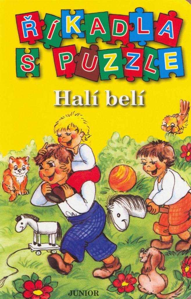 Říkadla s puzzle Halí belí
