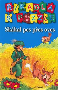 Obrázok Říkadla s puzzle Skákal pes přes oves