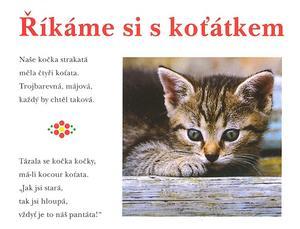 Obrázok Říkáme si s koťátkem