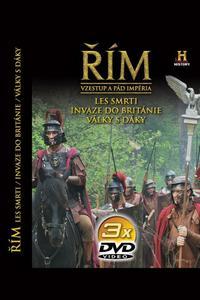 Obrázok Řím Vzestup a pád impéria IV-VI 3 DVD