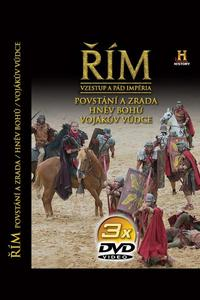 Obrázok Řím Vzestup a pád impéria VII-IX 3 DVD
