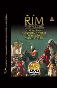 Obrázok Řím Vzestup a pád impéria X-XIII 4 DVD