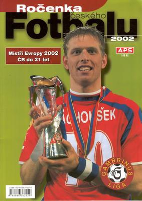 Obrázok Ročenka českého fotbalu 2002