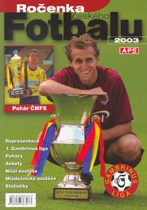 Obrázok Ročenka českého fotbalu 2003