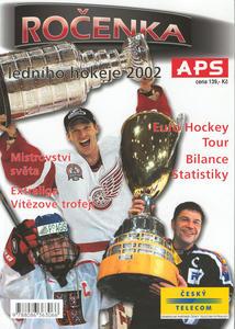 Obrázok Ročenka ledního hokeje 2002