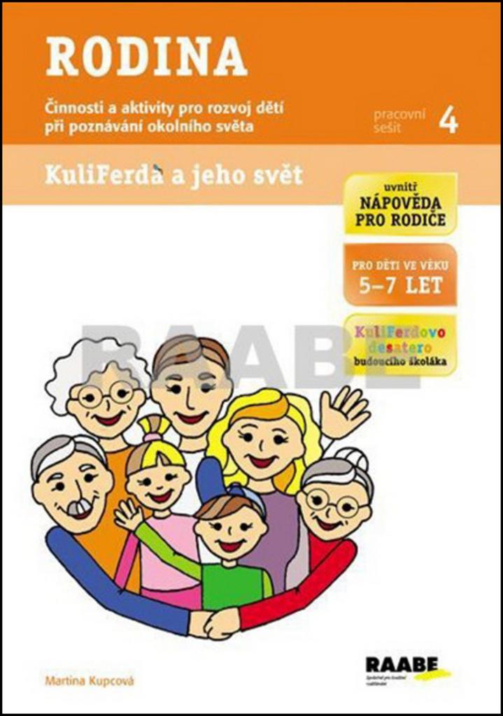 Raabe Rodina Pracovní sešit 4 - Mgr. Martina Kupcová