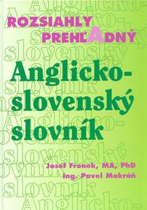 Obrázok Rozsiahly prehľadný Anglicko - slovenský slovník