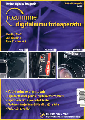Obrázok rozumíme digitálnímu fotoapatátu + CD ROM