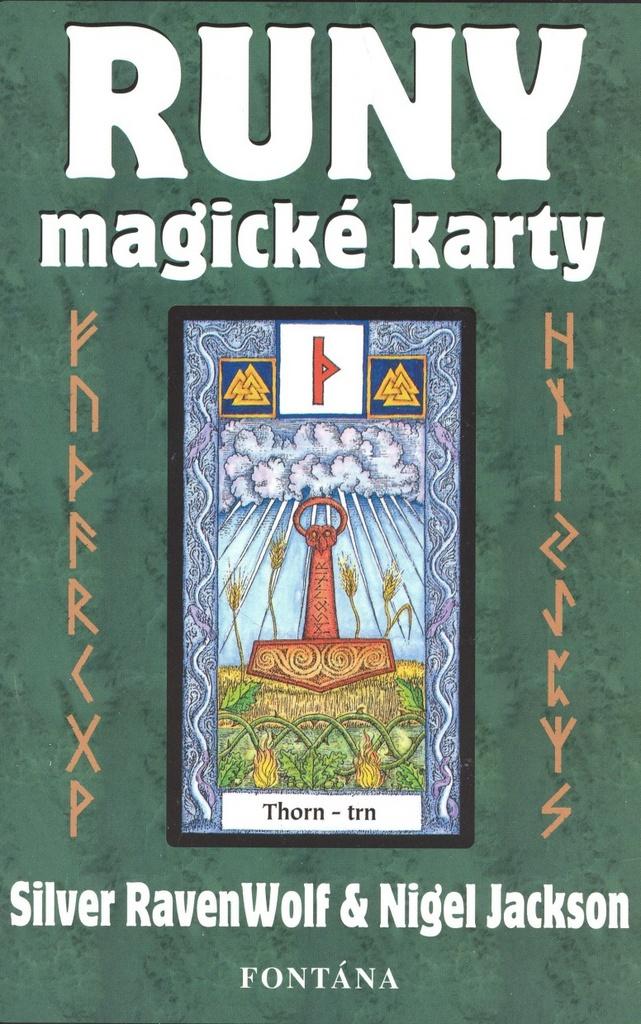 Runy - magické karty - Nigel Jackson, Silver RavenWolf