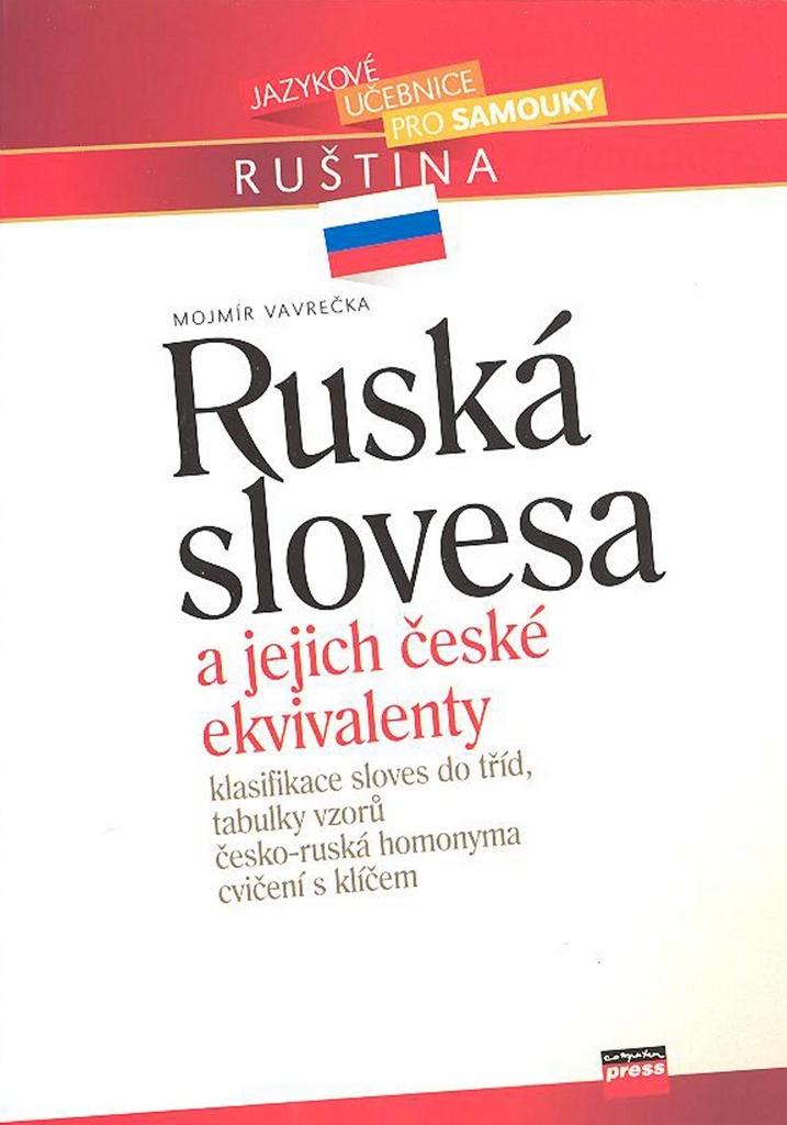 Ruská slovesa - Mojmír Vavrečka