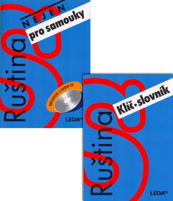 Obrázok Ruština nejen pro samouky učebnice + CD