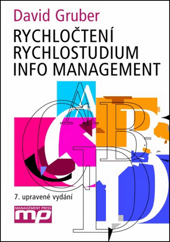 Rychločtení Rychlostudium Info management - David Gruber