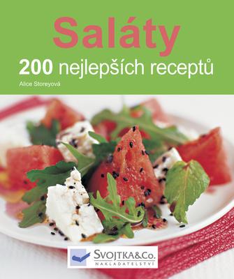 Obrázok Saláty 200 nejlepších receptů