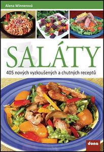 Obrázok Saláty 405 nových vyzkoušených a chutných receptů