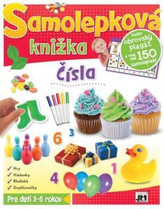 Obrázok Samolepková knižka Čísla