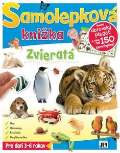 Obrázok Samolepková knižka Zvieratá