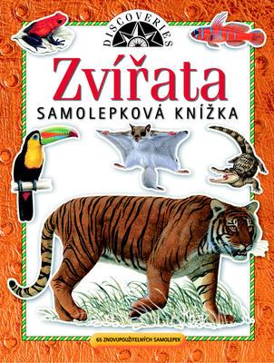 Obrázok Samolepková knížka Zvířata