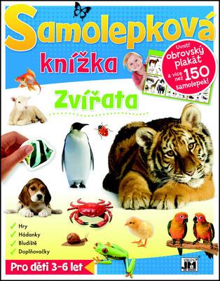 Samolepková knížka Zvířata