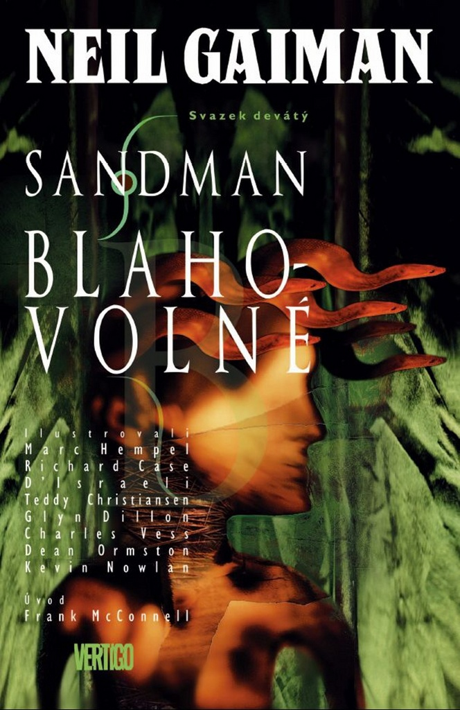 Sandman Blahovolné - Neil Gaiman