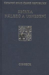 Obrázok Sbírka nálezů a usnesení ÚS ČR, sv. 56
