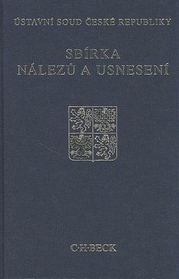Obrázok Sbírka nálezů a usnesení ÚS ČR, svazek 49