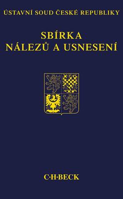 Obrázok Sbírka nálezů a usnesení ÚS ČR, svazek 57