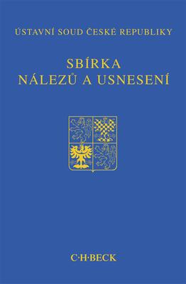 Obrázok Sbírka nálezů a usnesení ÚS ČR, svazek 64
